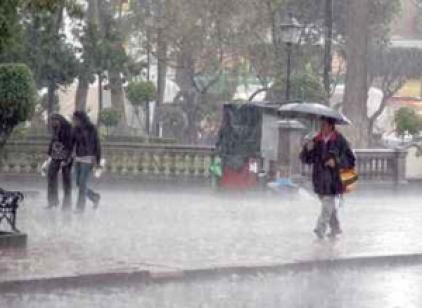 Anuncian abundantes lluvias para el jueves y viernes