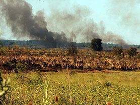 La provincia reforzó los sistemas de prevención para evitar incendios forestales y de campos