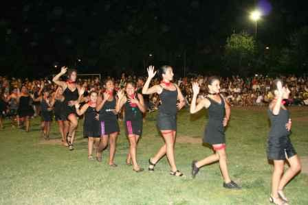 Las Colonias de enero 2011, cerraron a pura música en los polideportivos de Tigre