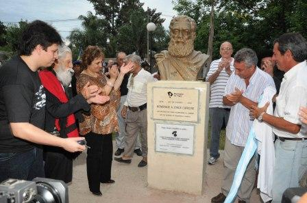 Emotivo homenaje a Jorge Cafrune en Benavídez