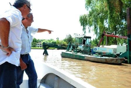 Tigre intensifica sus obras en el Delta