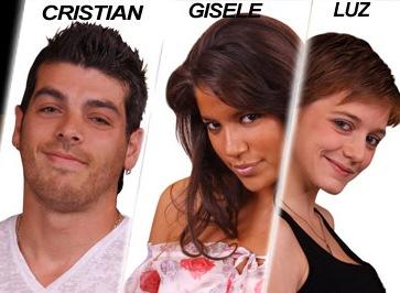 Gran Hermano 2011: Luz, Gisele y Cristian U. los nuevos nominados