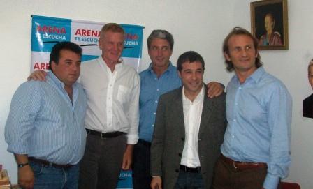 De Narváez encabezó actividades con jóvenes y vecinos en Vicente López