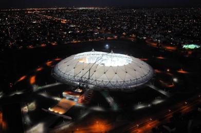 Se abren las puertas del estadio Ciudad de la Plata, el más moderno de latinoamérica