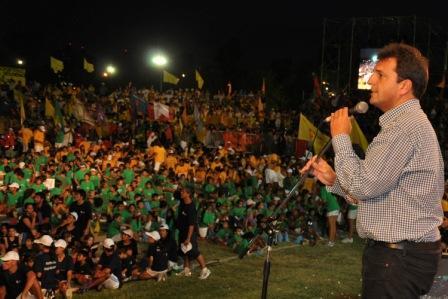 Tigre vivió una multitudinaria fiesta en el Cierre de Colonias 2011