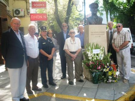 Rindieron homenajes al Capitán Aldo Garrido