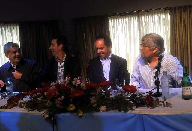El peronismo bonaerense respaldo la reelección de Cristina Fernández y de Daniel Scioli