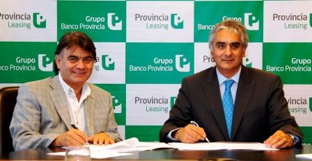 Montoya y Gutierrez firmaron contratos para adquirir bienes para Quilmes