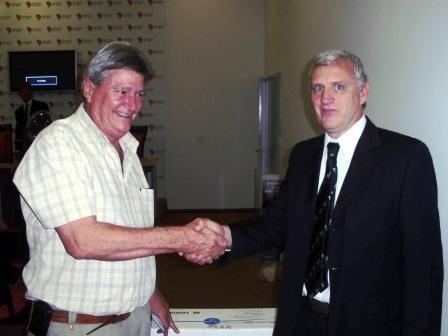 El Secretario de Ingresos Públicos, Daniel Chillo, realizó un nuevo sorteo de Si Cumplís, Ganás, el programa de estímulos e incentivos del Municipio de Tigre