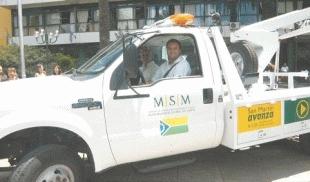Nueva grúa para la Dirección de Tránsito de San Martín