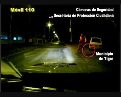 El procedimiento fue realizado en Don Torcuato, partido de Tigre, por un móvil municipal que colabora con la Policía local.