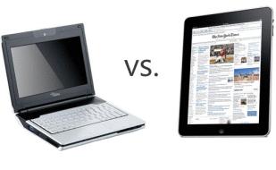 ¿Es mejor una netbook o una tablet?