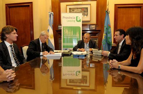 Provincia Leasing financiará bienes a municipios con condiciones preferenciales
