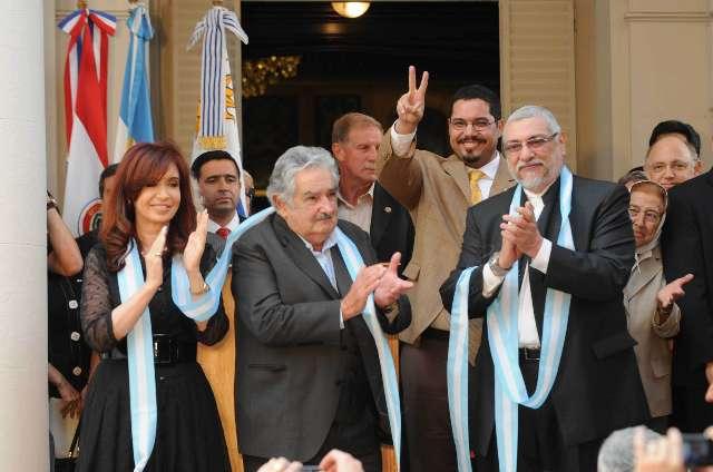 Cristina y Lugo inauguraron la cota 83 de la central hidroeléctrica de Yacyreta