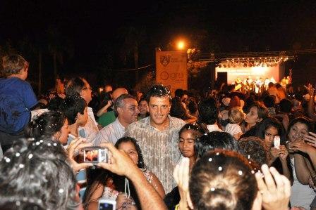 Una multitud disfrutó del inicio de los festejos del carnaval en Benavídez