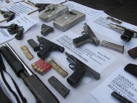 Instalan puestos de entrega voluntaria de armas en municipios bonaerences