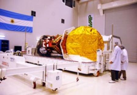 El satélite argentino SAC-D Aquarius se prepara para su lanzamiento