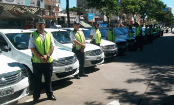 Vicente López: García presentó nuevos móviles y hablo de Seguridad