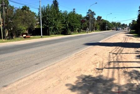 Comienza el ensanche y la pavimentación de la Avenida de los Constituyentes