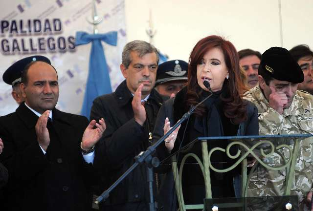La presidenta ratificó el reclamo por la soberanía de Malvinas y recalcó la