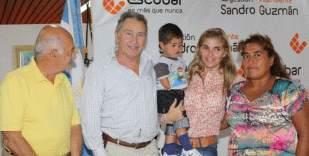 Entregaron pensiones asistenciales en Escobar