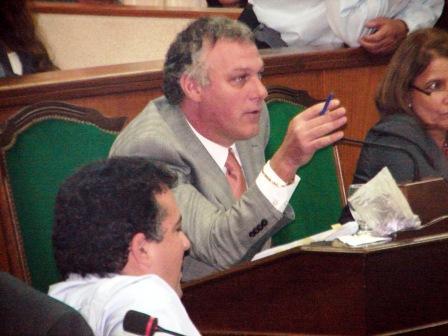 Fabián Gnoffo presidente del bloque de concejales de la UCR