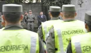 Nueva escala de haberes y revisión de suplementos para Gendarmeria y Prefectura