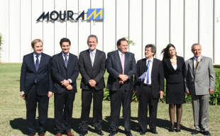 Ministro de Producción visitó megaempresa brasilera radicada en Pilar