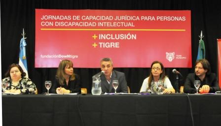 Apertura de las Jornadas de Capacidad Jurídica de las Personas con Discapacidad Intelectual