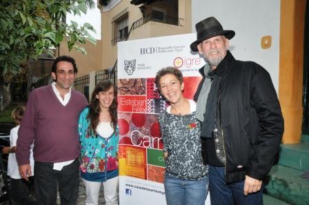 Espectacular  inauguración de una nueva muestra en la Casa de las Artes Tacuarí