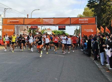 La provincia festejó el día del trabajador con un maratón en Olavarría