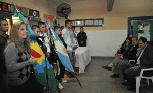 Apertura de una escuela muy especial en Malvinas Argentinas