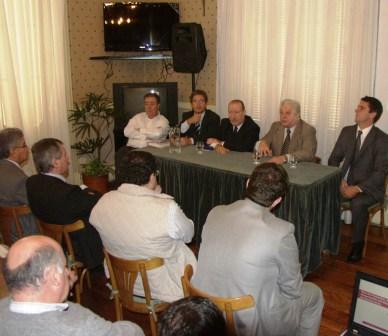 Amieiro y Cuartango compartieron una reunión de trabajo con productores del delta