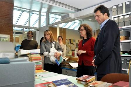 Massa visitó la Universidad de San Andrés