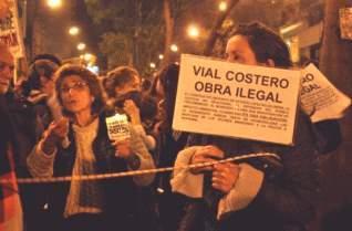 Marcharán en repudio a la inauguración del Vial Costero