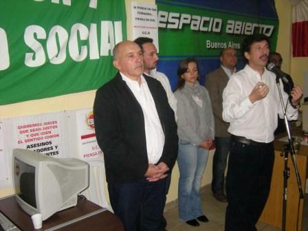Nuevo Espacio Radical abrió local partidario en Virreyes