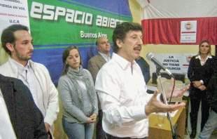 Posee encabezó la inauguración de una casa radical en San Fernando