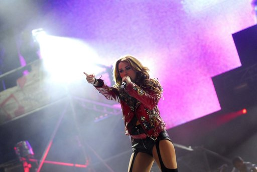 ,Miley Cyrus no defraudó a sus fanáticos en su primer concierto en el país