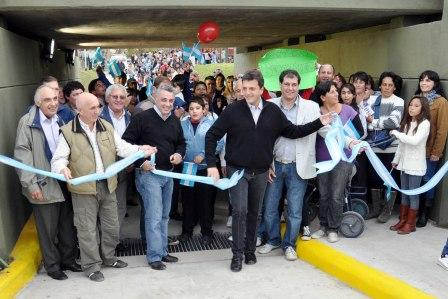 Gran fiesta por el 82º aniversario de Benavídez (inauguración túnel)
