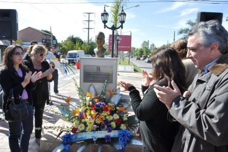 El PJ Tigre homenajeó a Eva Perón en el 92º aniversario de su natalicio