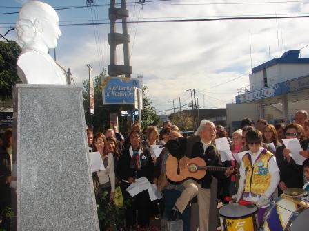 El Peronismo de San Fernando homenajeó a Eva Perón