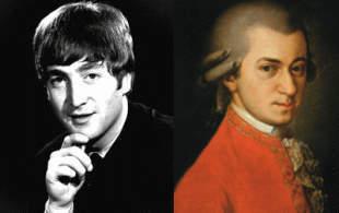 Lennon y Mozart, en el Teatro del Viejo Concejo de San Isidro