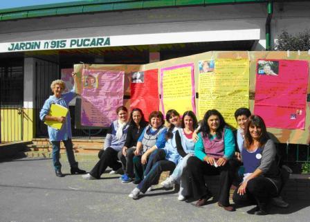 Inauguran el Rincón de Lectura  para el  jardín 915 Pucará de Las Tunas