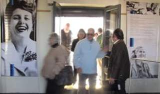 Homenaje a Evita en el Museo de San Miguel