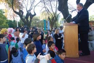 Inauguraron Plaza de los Niños en Pilar