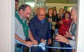 Curutchet abrió salón de capacitación informática en Centro de Jubilados