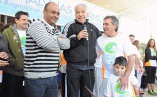 Multitudinaria participación en la Maratón Malvinas Cormillot