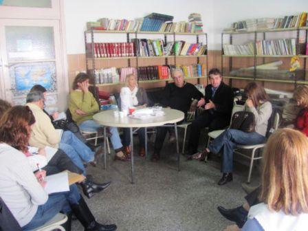 Reunión por los Corredores Escolares  en Villa Martelli