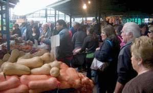 Primer Paseo de Compras del Mercado Central en Marcos Paz