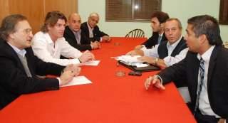 Nicolás Scioli se reunió con Gianella y Passo en Tigre